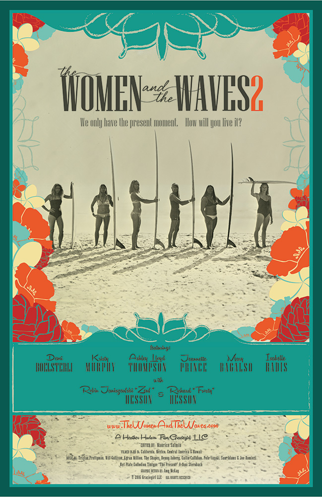 Women & The Waves 2 surf film poster