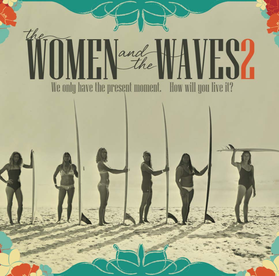 Women and the Waves 2 surf film DVD Cover