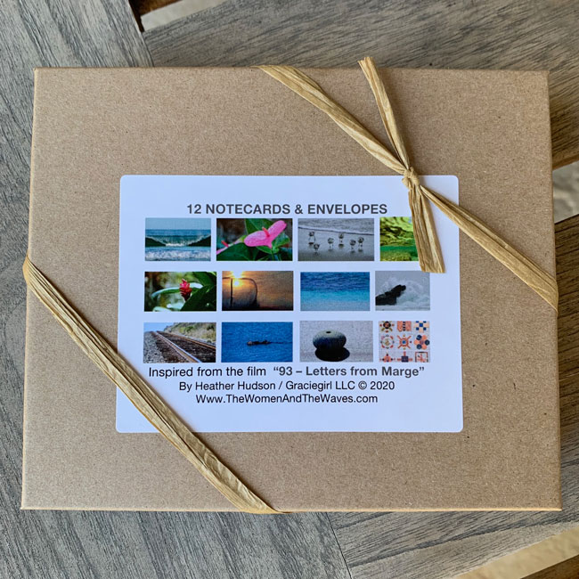 boxed set of note cards